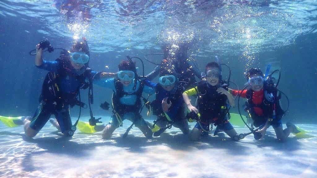 Should Kids Learn Scuba Diving?
